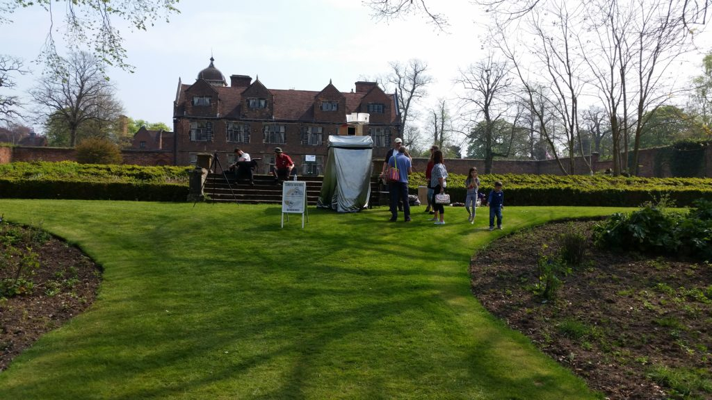 Camera Obscura + The Wind at Castle Bromwich Hall Gardens